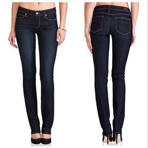 Paige dark wash skyline jeans